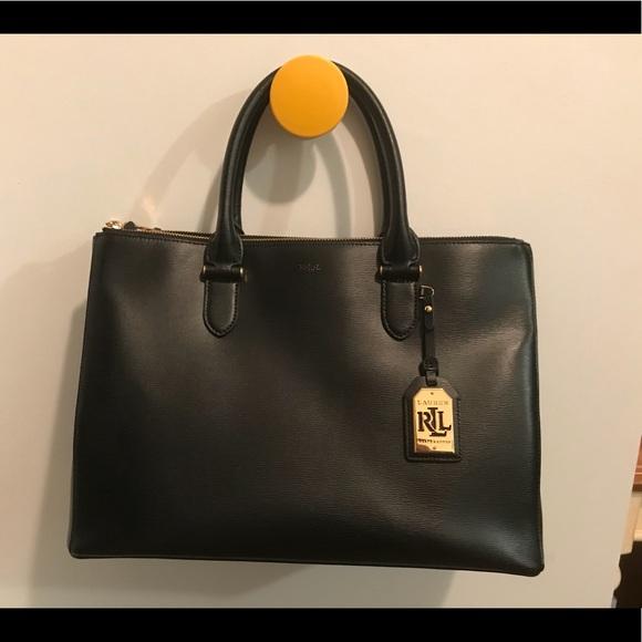 Lauren Ralph Lauren Handbags - Lauren Ralph Lauren Newbury Double Zip  Satchel 0b02f24b14e3a